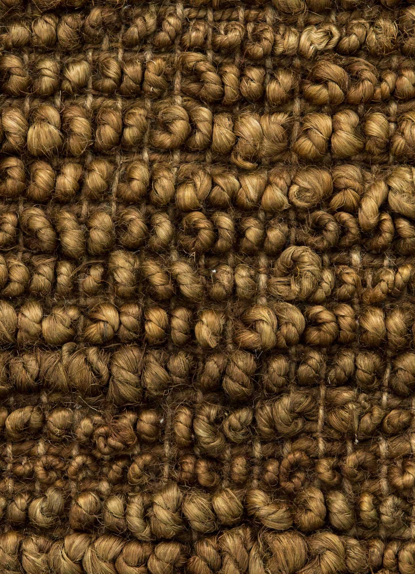 abrash beige and brown jute and hemp flat weaves Rug - CloseUp