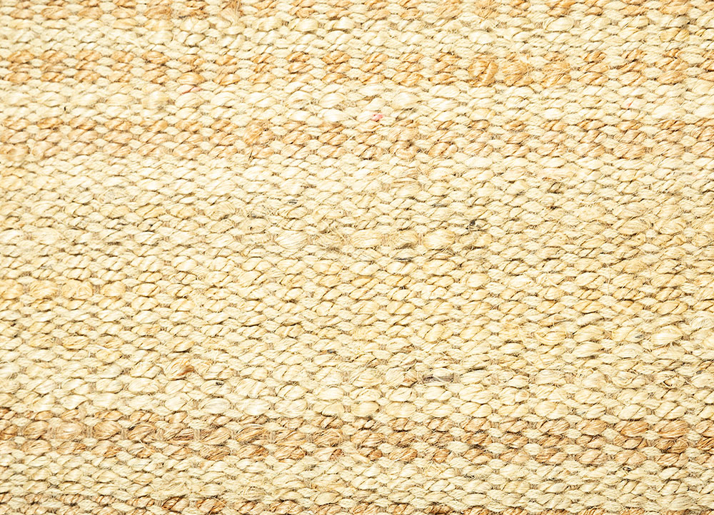 abrash ivory jute and hemp jute rugs Rug - CloseUp