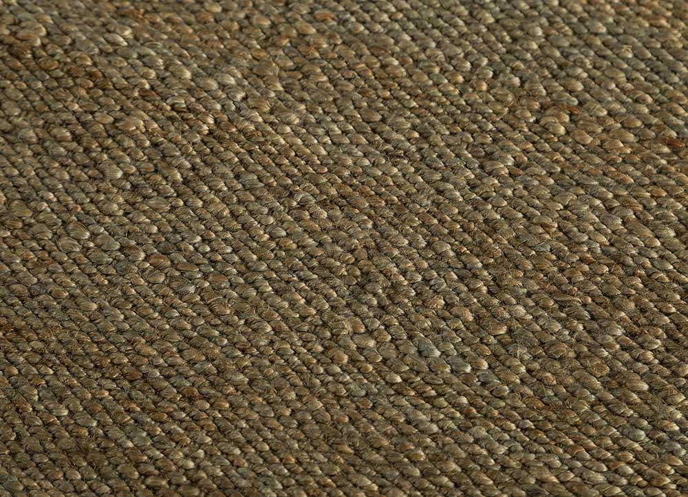 abrash grey and black jute and hemp jute rugs Rug - CloseUp