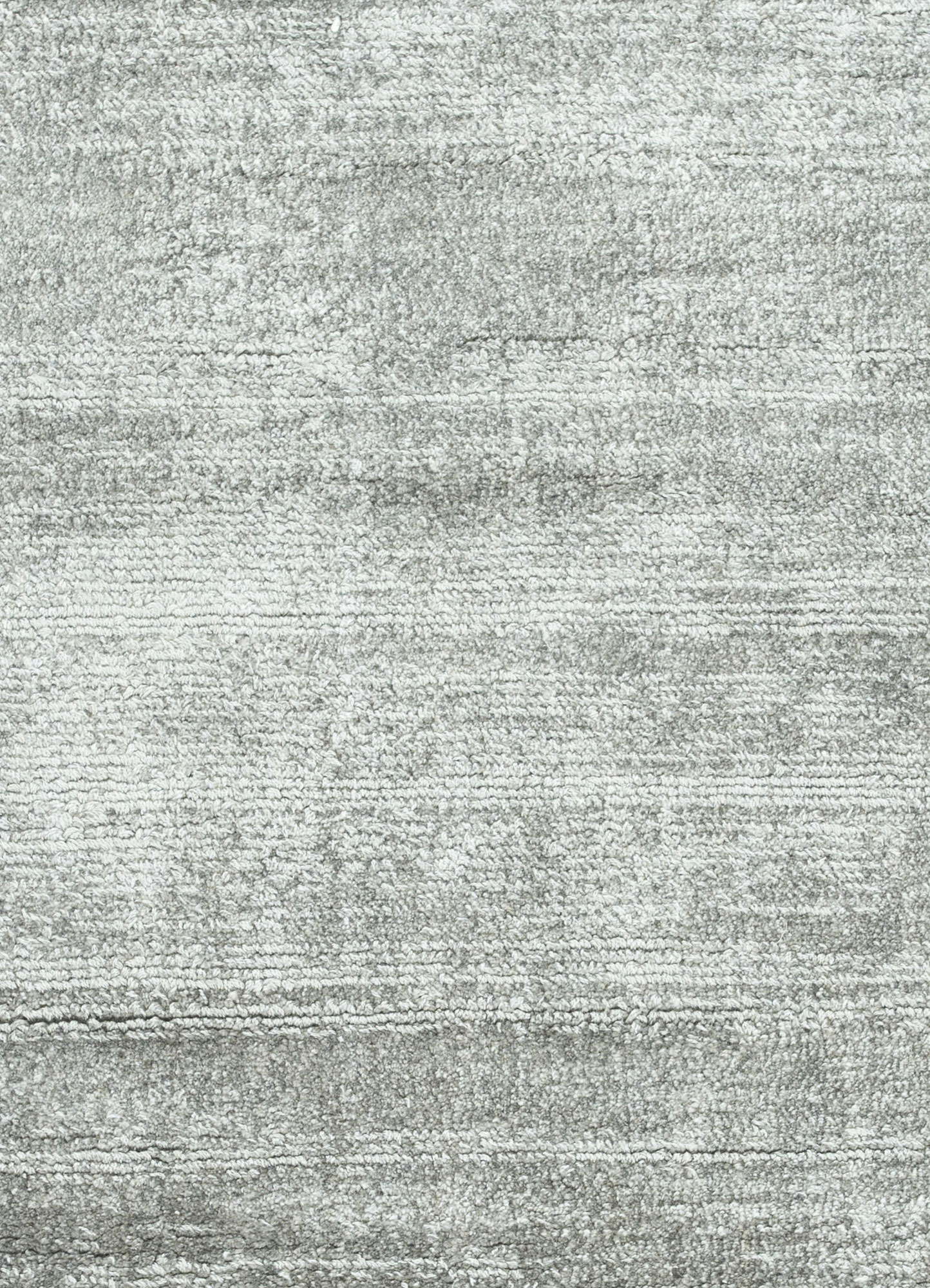 yasmin grey and black viscose hand loom Rug - CloseUp