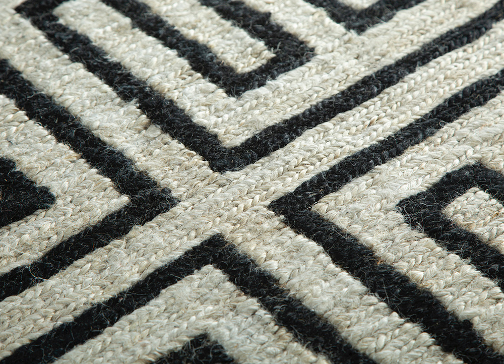 anatolia ivory jute and hemp jute rugs Rug - CloseUp