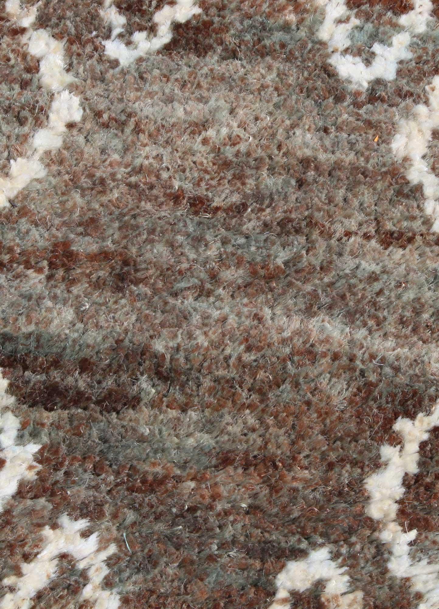 anatolia green jute and hemp jute rugs Rug - CloseUp