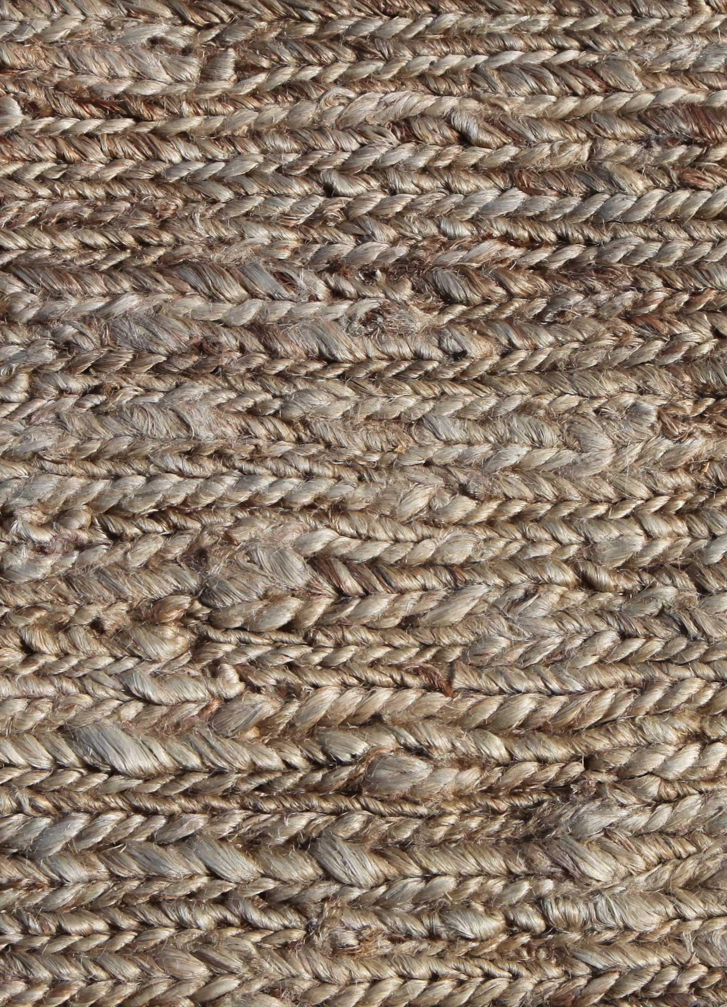 abrash grey and black jute and hemp flat weaves Rug - CloseUp