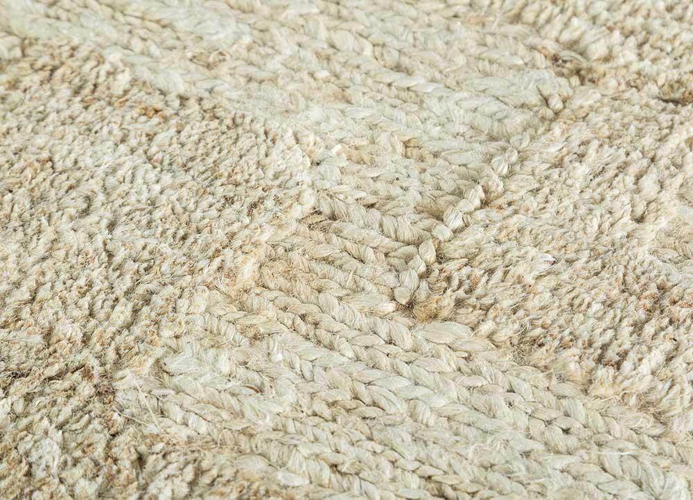 memoir ivory jute and hemp jute rugs Rug - CloseUp