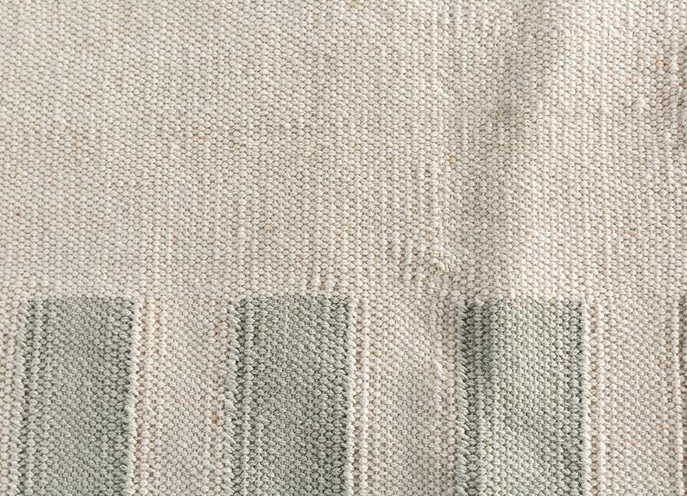 anatolia ivory cotton flat weaves Rug - CloseUp