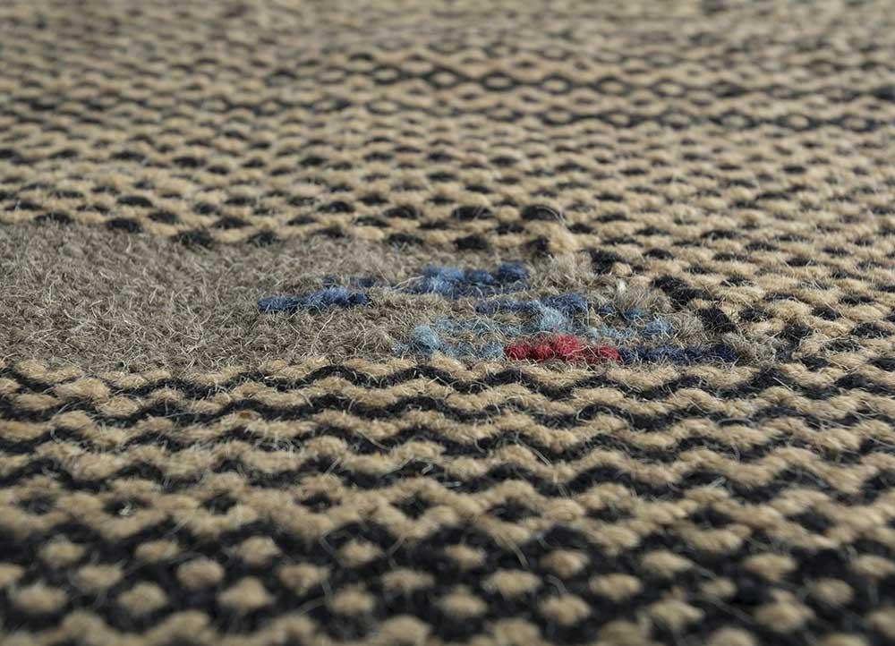 spatial ivory jute and hemp jute rugs Rug - CloseUp