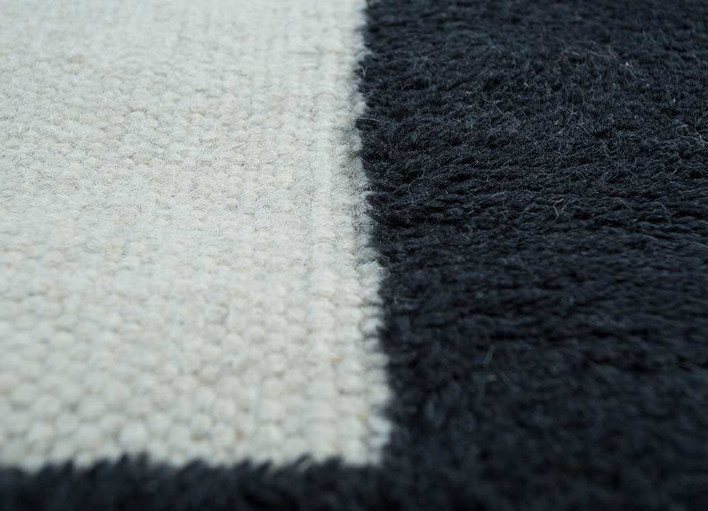 anatolia gold wool flat weaves Rug - CloseUp