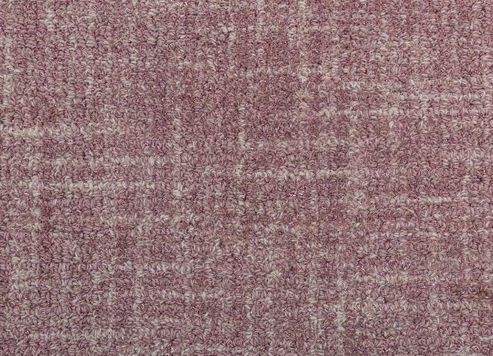 shudd pink and purple others hand tufted Rug - CloseUp