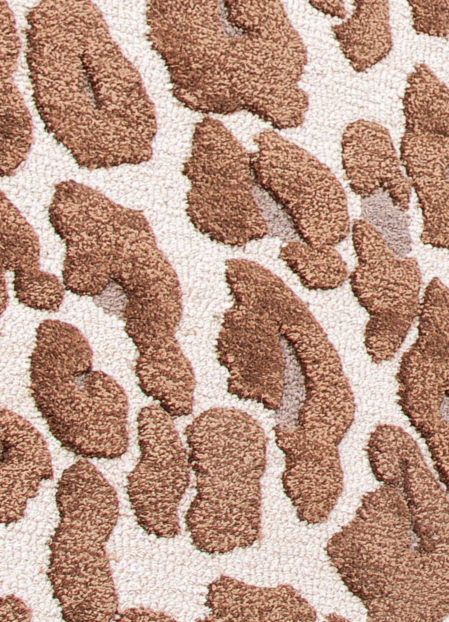 midtown by artemis ivory wool and viscose hand tufted Rug - CloseUp