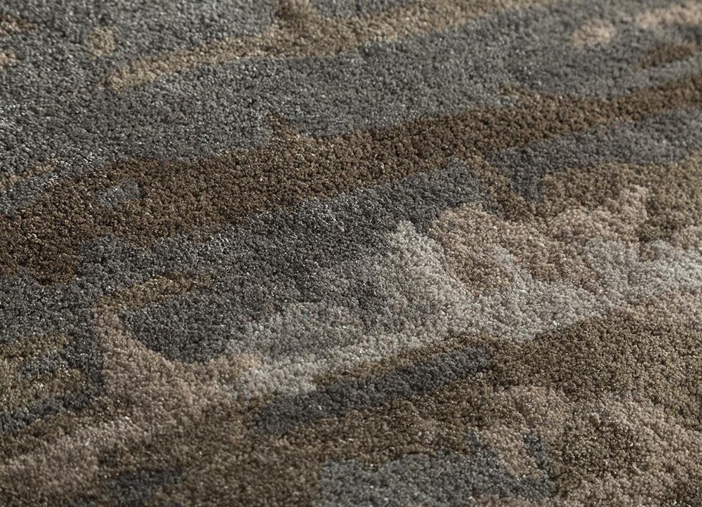 genesis ivory wool and viscose hand tufted Rug - CloseUp