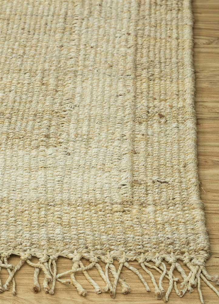 anatolia ivory jute and hemp jute rugs Rug - Corner