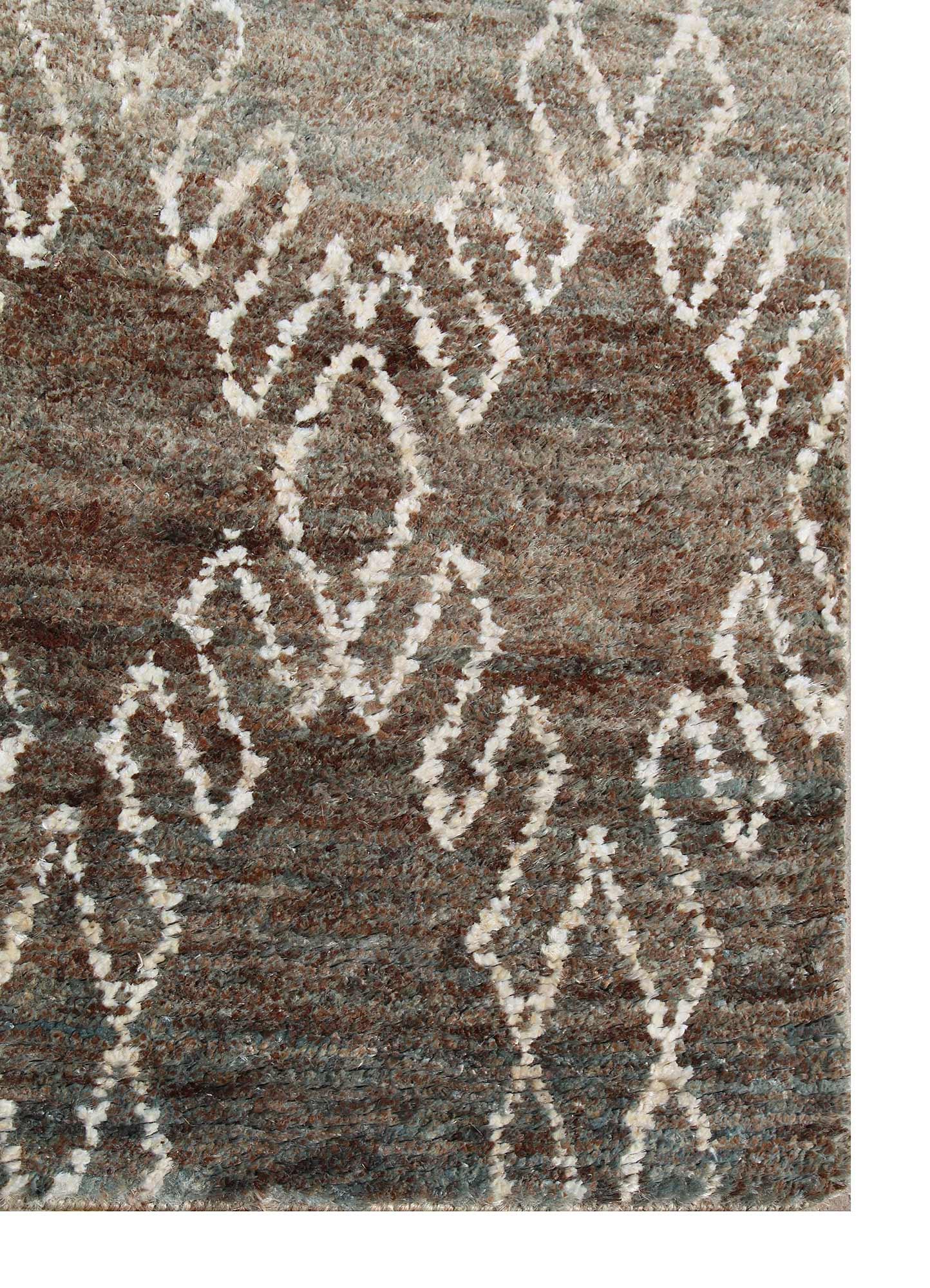 anatolia green jute and hemp jute rugs Rug - Corner