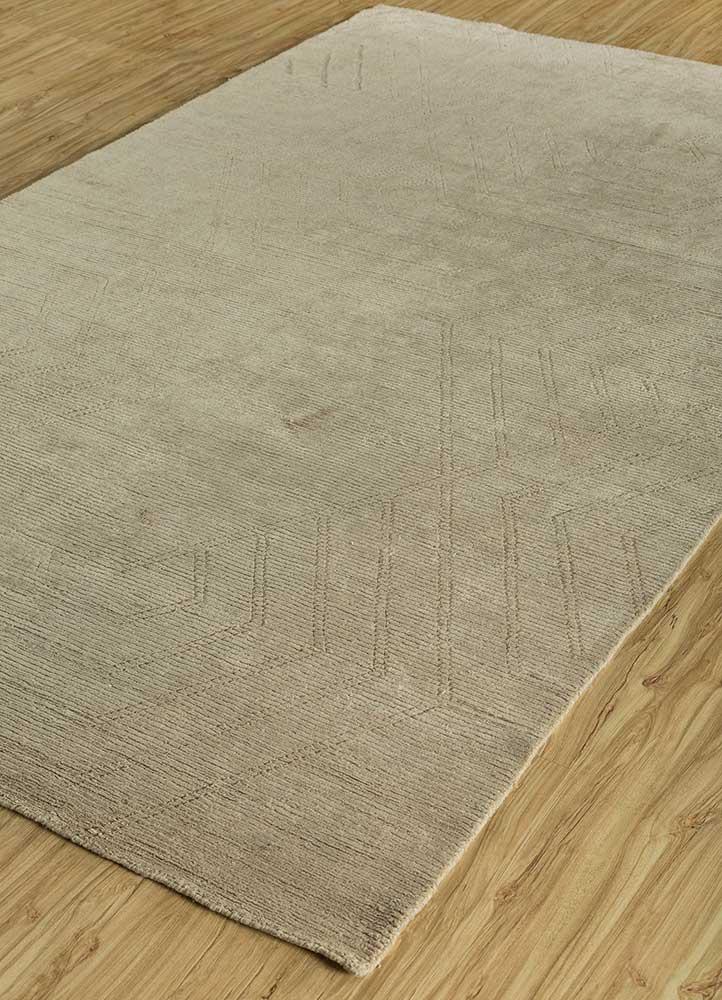 graze beige and brown others hand loom Rug - FloorShot