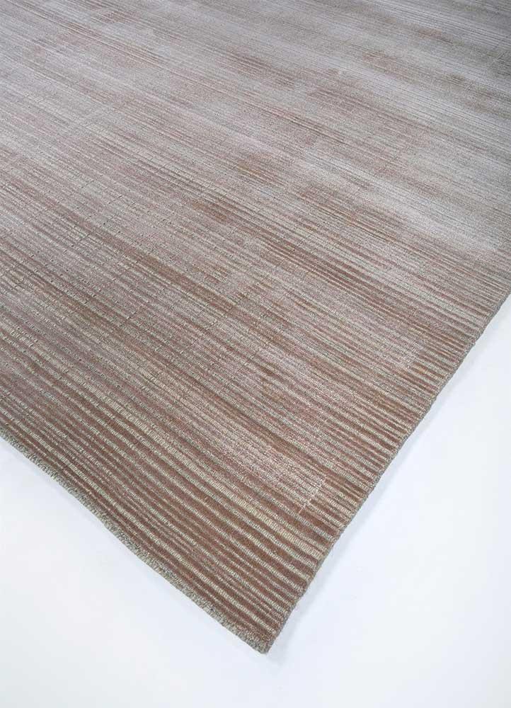 oxford pink and purple wool hand loom Rug - FloorShot