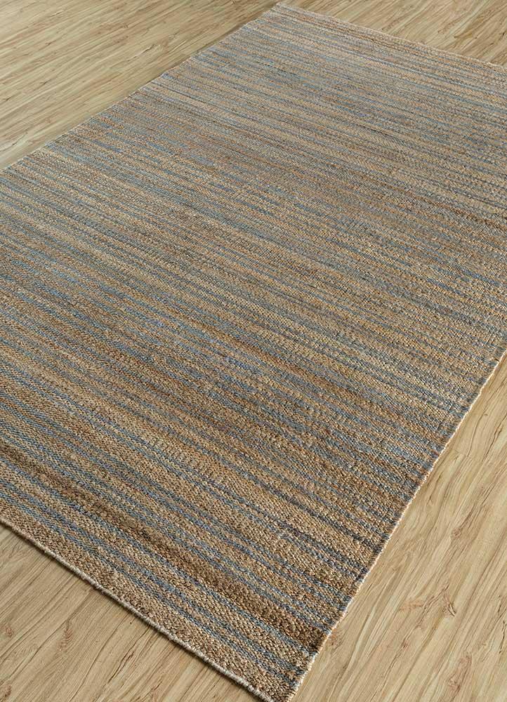 spatial red and orange jute and hemp jute rugs Rug - FloorShot