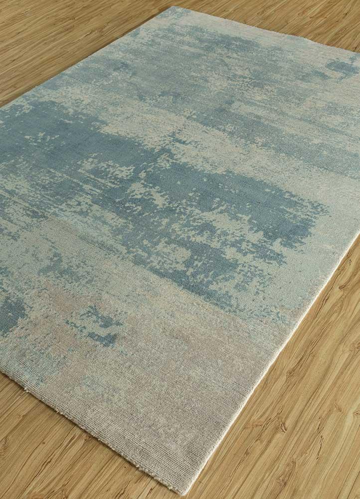 acar ivory wool hand loom Rug - FloorShot