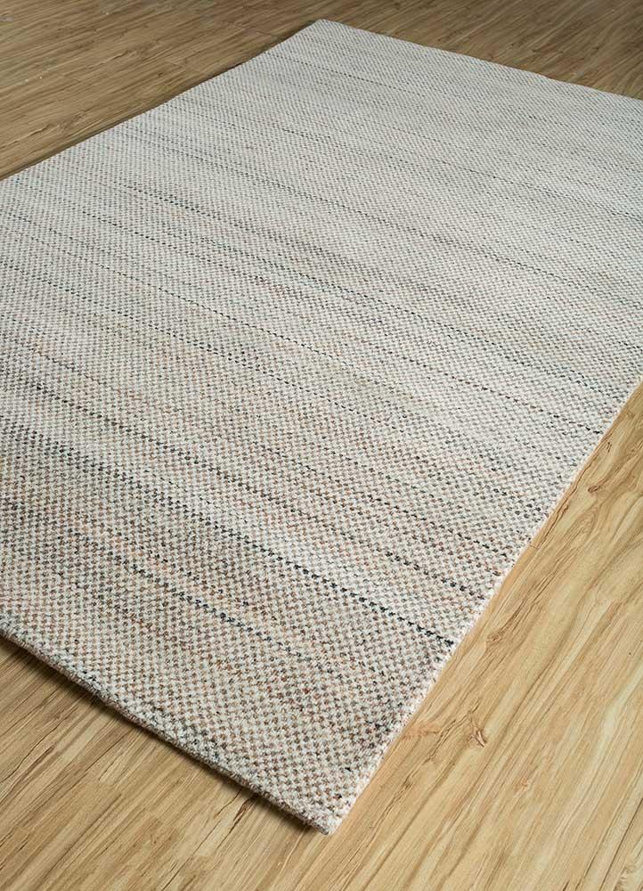 graze red and orange wool hand loom Rug - FloorShot