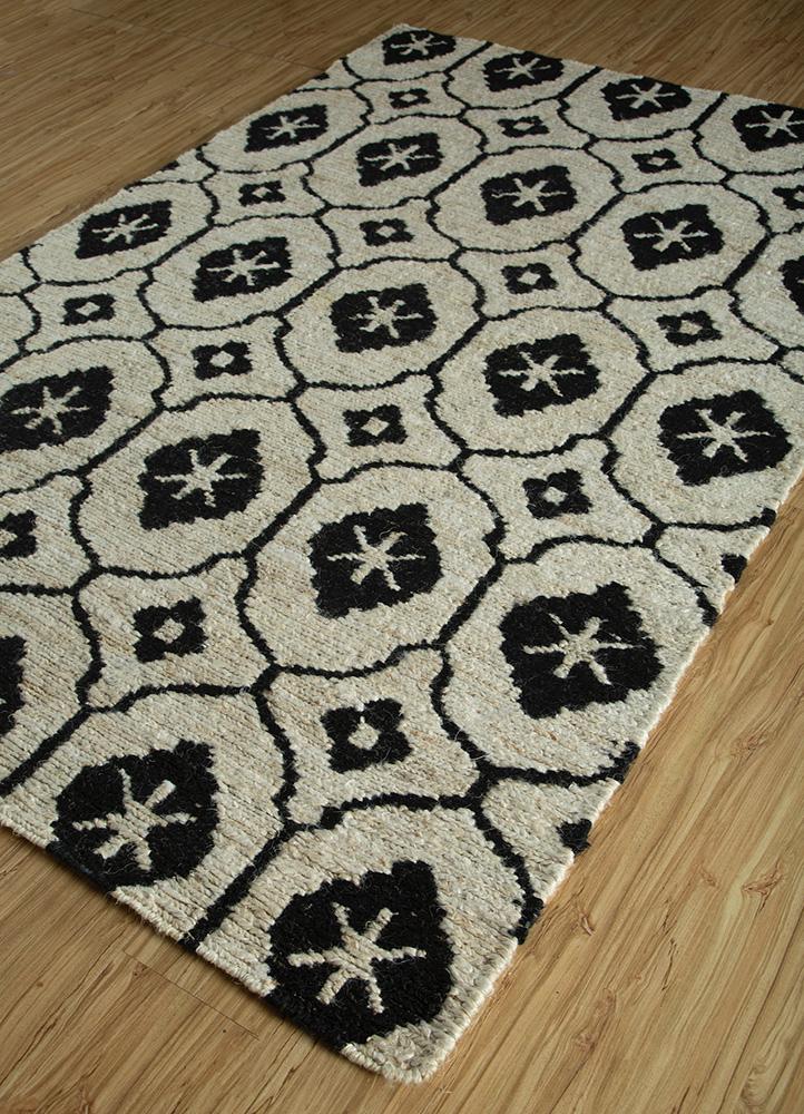 spatial ivory jute and hemp jute rugs Rug - FloorShot