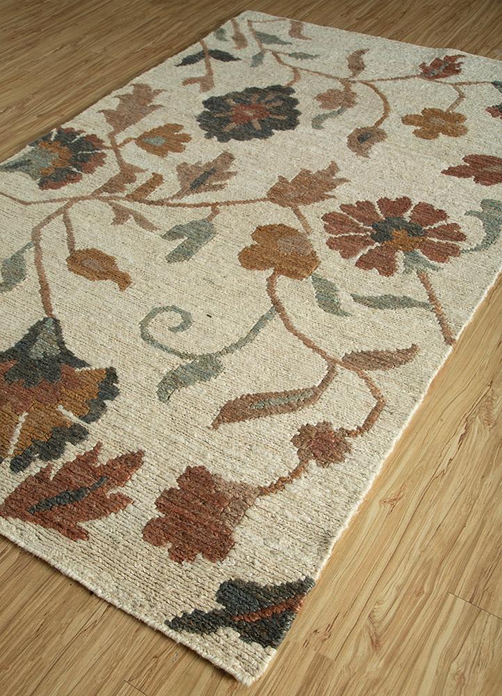 heritage ivory jute and hemp jute rugs Rug - FloorShot