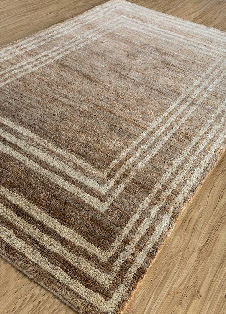 anatolia ivory jute and hemp jute rugs Rug - FloorShot