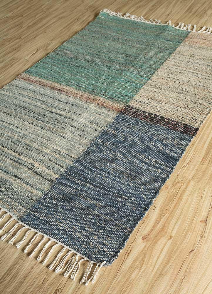 spatial green jute and hemp jute rugs Rug - FloorShot