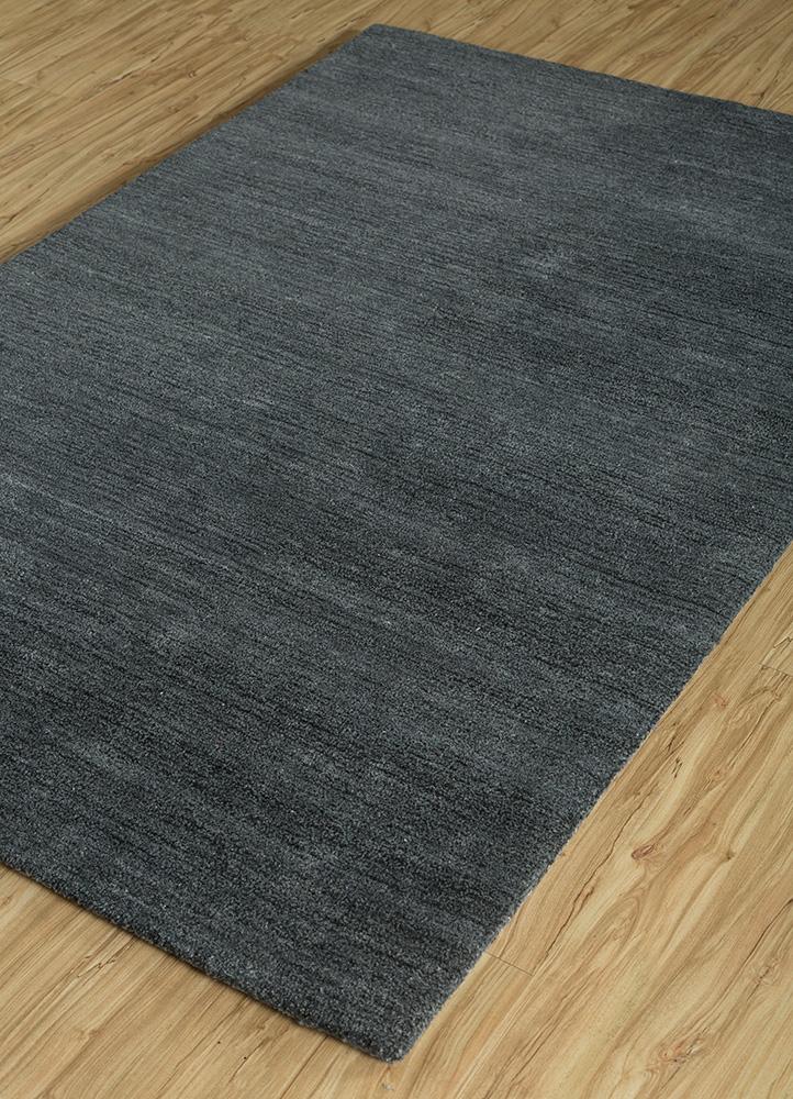 shudd blue polyester hand tufted Rug - FloorShot