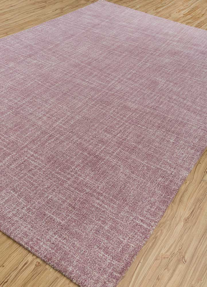 shudd pink and purple others hand tufted Rug - FloorShot