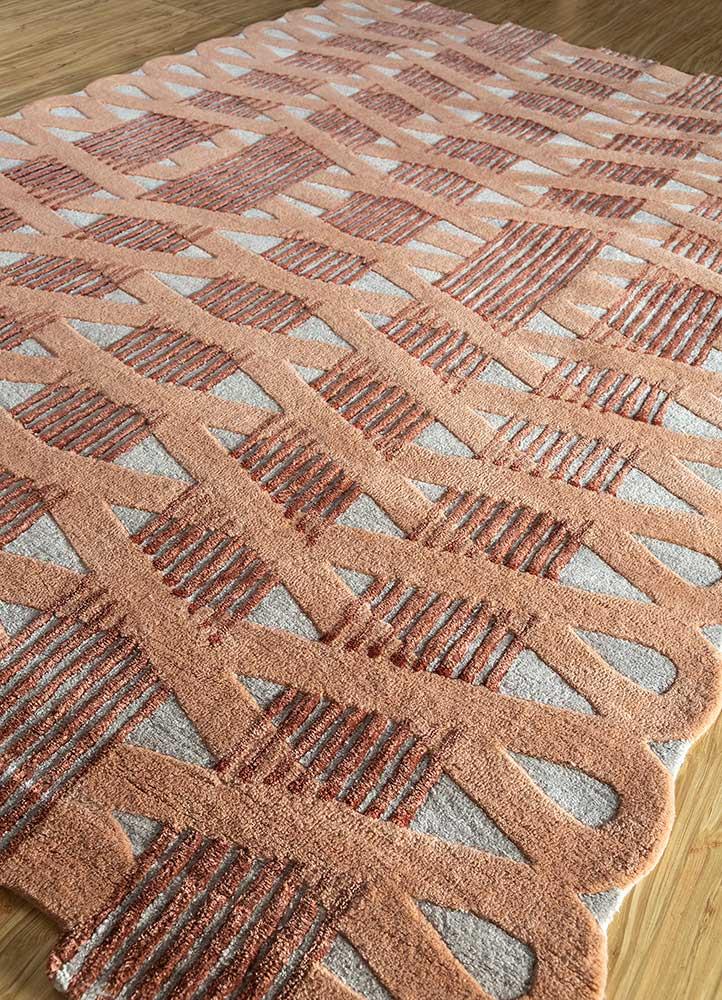 jaipur wunderkammer ivory wool and viscose hand tufted Rug - FloorShot