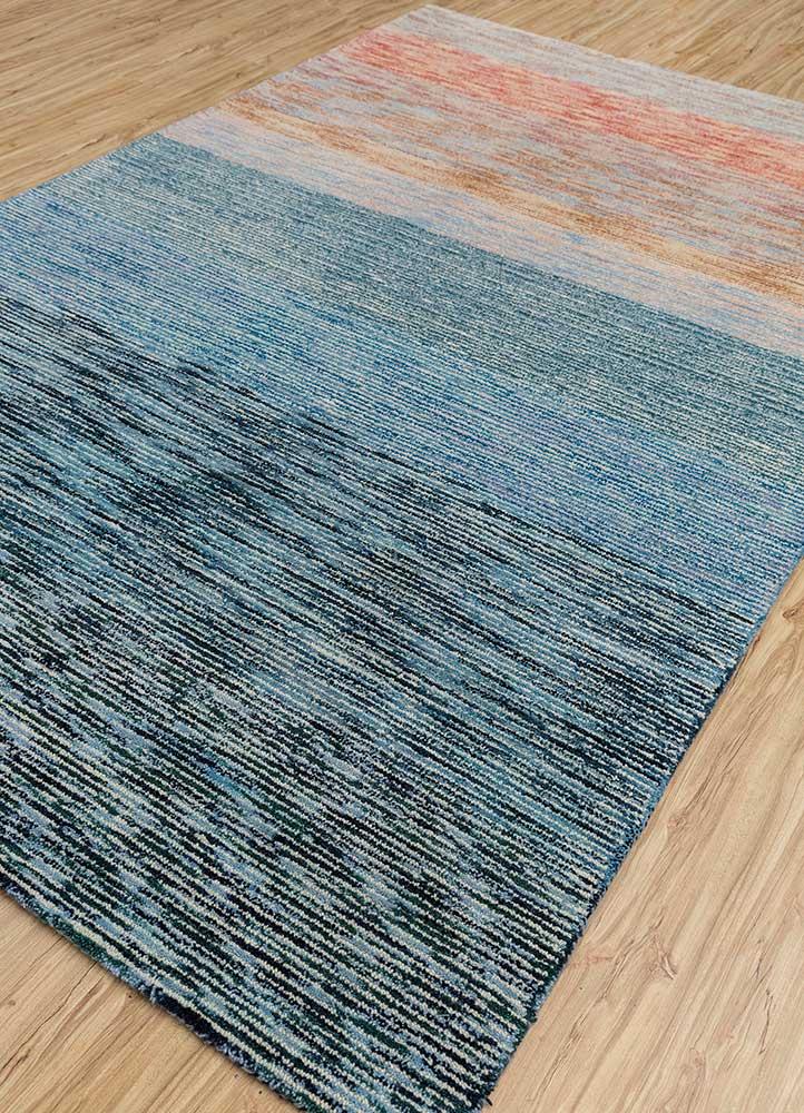 transcend ivory wool hand tufted Rug - FloorShot