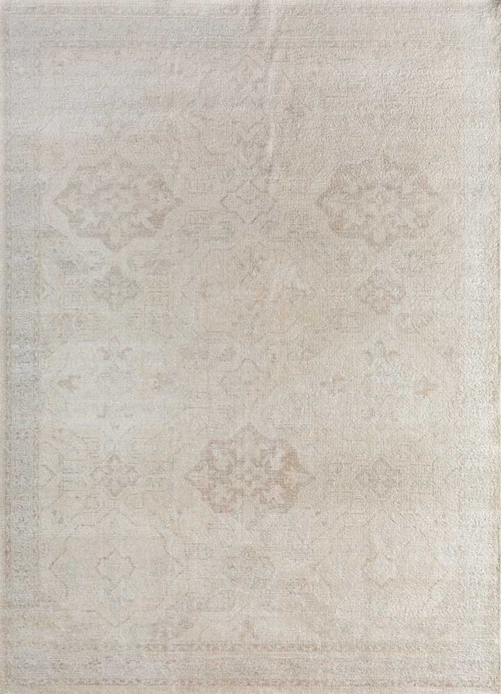 GS-7005 Marble/Dark Ivory ivory wool hand knotted Rug