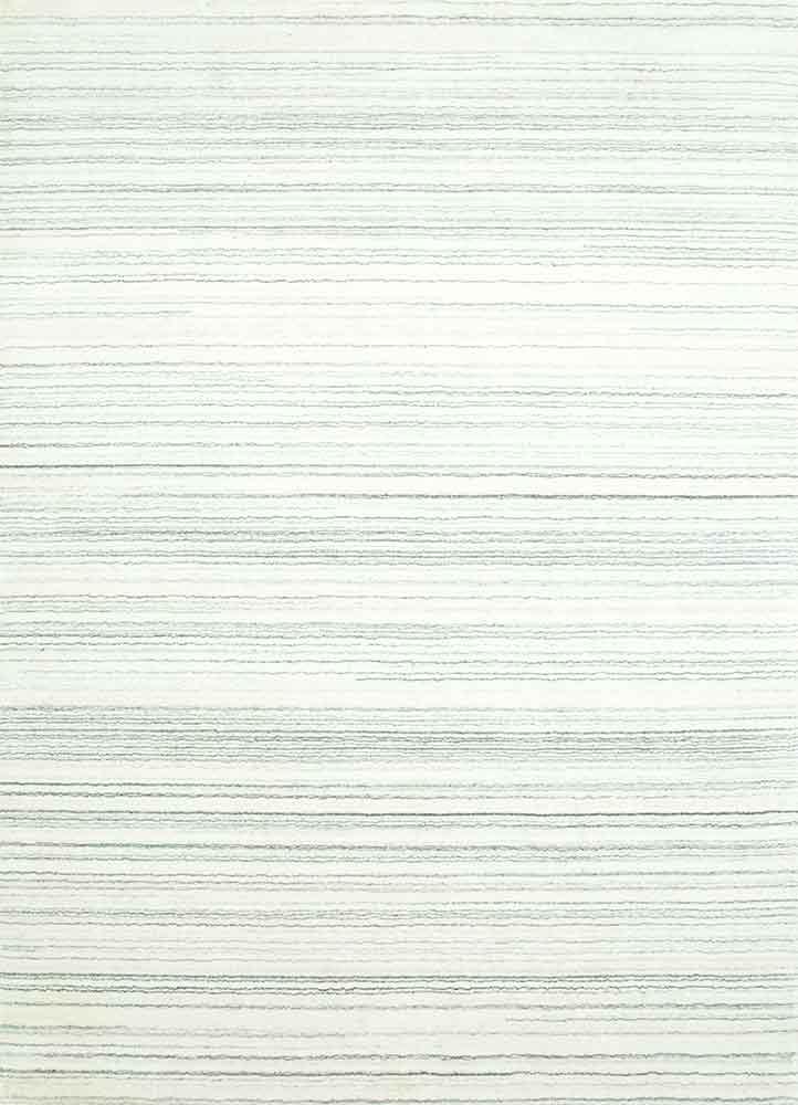 CX-2515 Pristine White/Pristine White ivory wool and viscose hand loom Rug