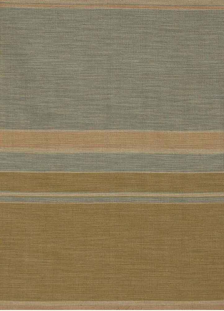 anatolia green wool flat weaves Rug - HeadShot