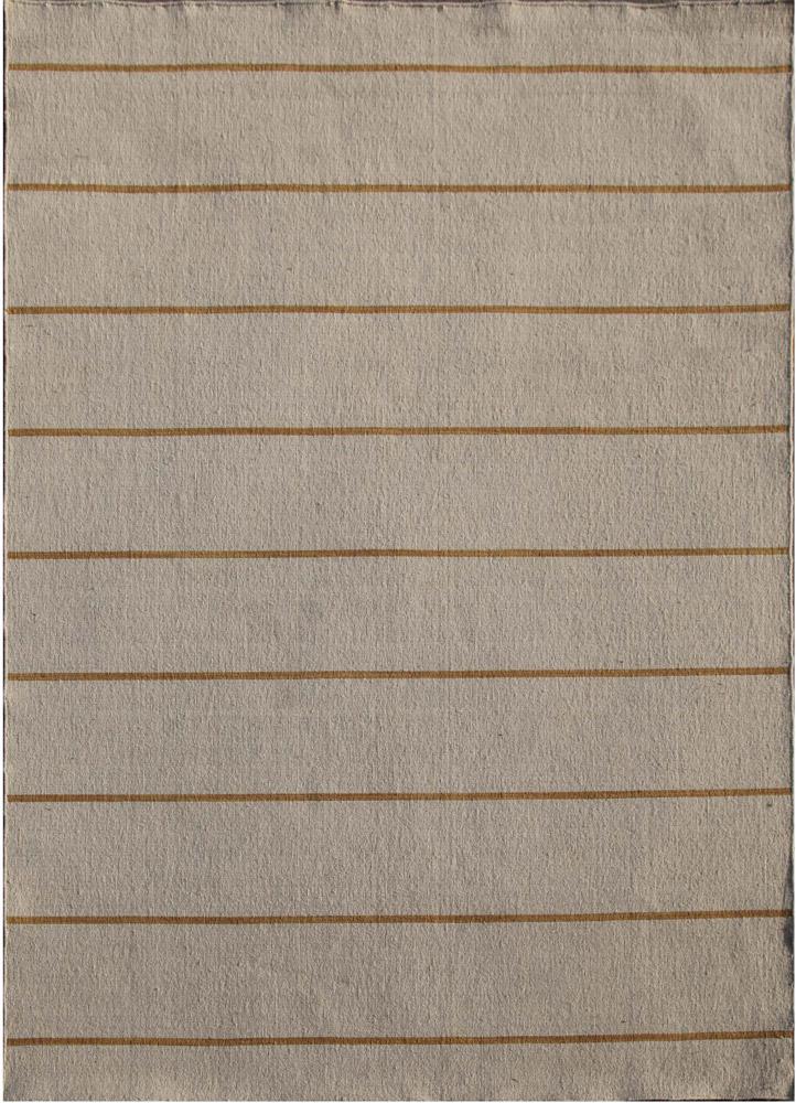 DR-119 White Ice/Burnished Gold ivory wool flat weaves Rug