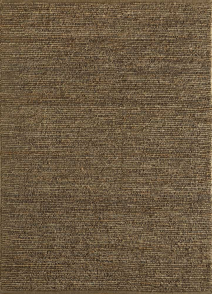 GI-07 Light Taupe/Light Taupe beige and brown jute and hemp flat weaves Rug