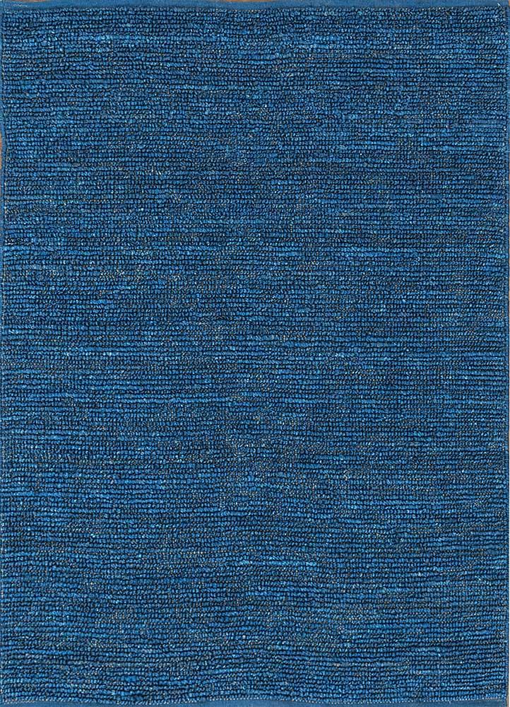 GI-07 Twilight Blue/Twilight Blue blue jute and hemp jute rugs Rug
