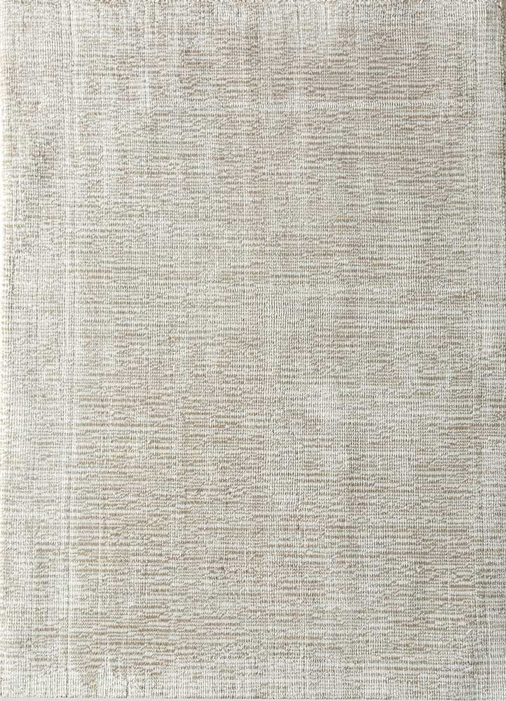 HPV-206 Classic Gray/White grey and black viscose hand loom Rug