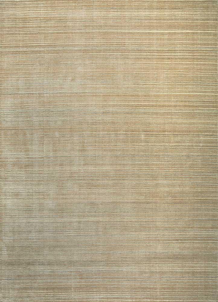 oxford beige and brown wool hand loom Rug - HeadShot