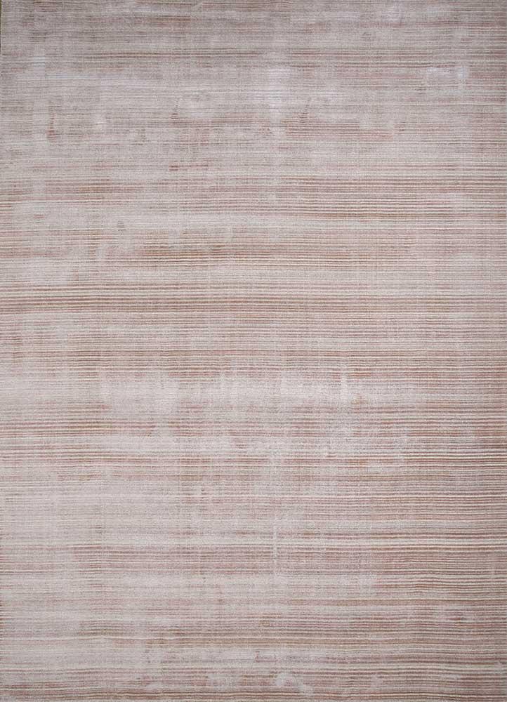 oxford pink and purple wool hand loom Rug - HeadShot