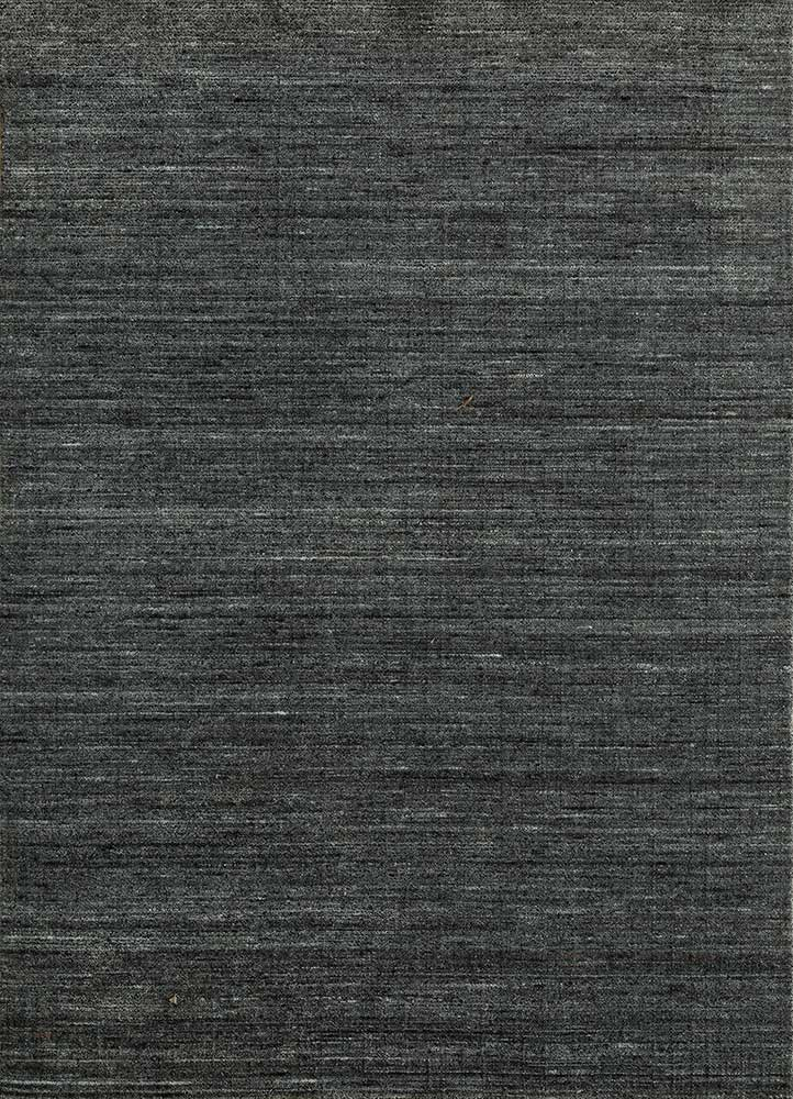 HWV-09 Eclipse/Eclipse blue wool and viscose hand loom Rug