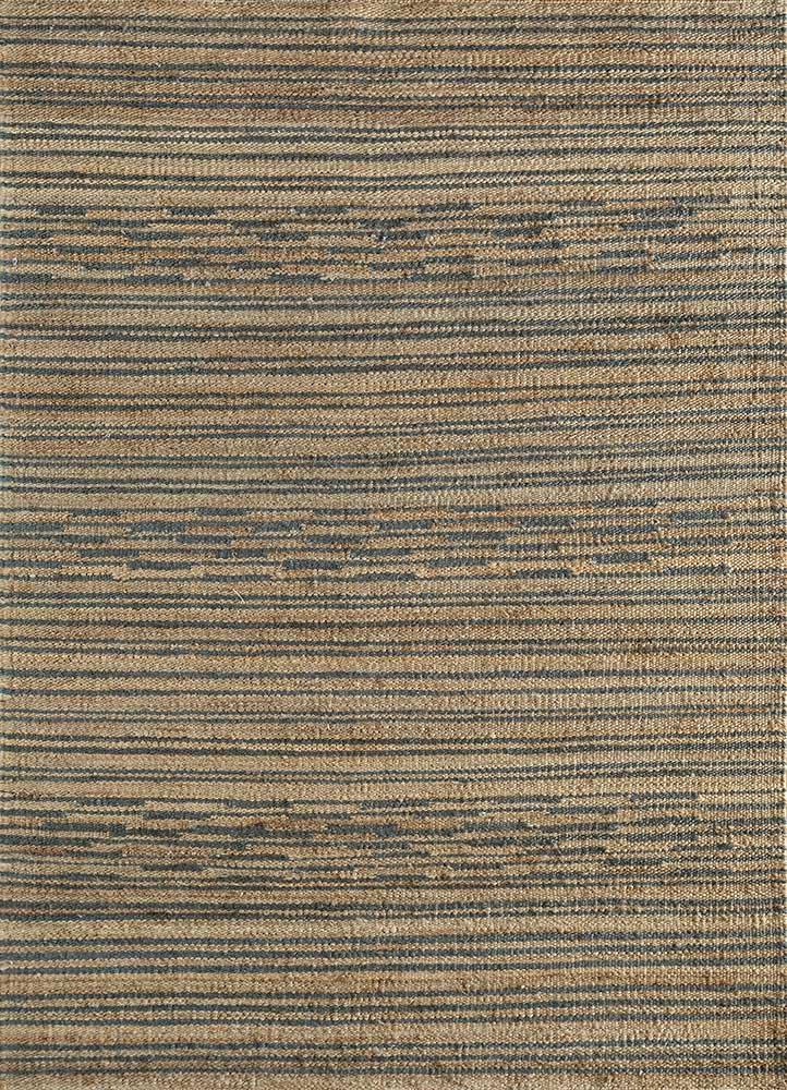 PDHM-527 Light Camel/Denim Ash beige and brown jute and hemp jute rugs Rug