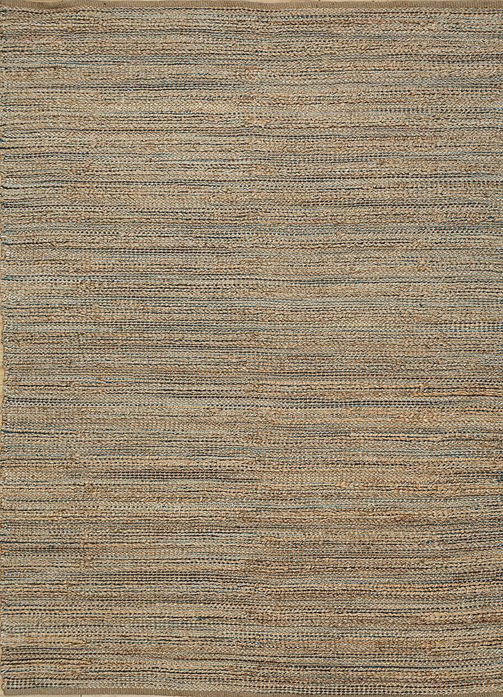 PDJR-01 Hockney Blue/Hockney Blue blue jute and hemp jute rugs Rug