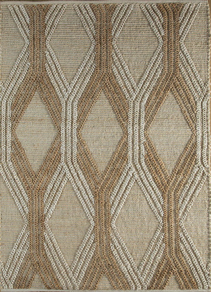 anatolia ivory jute and hemp jute rugs Rug - HeadShot
