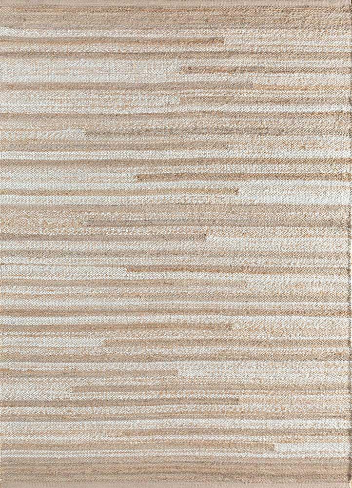 spatial ivory jute and hemp flat weaves Rug - HeadShot