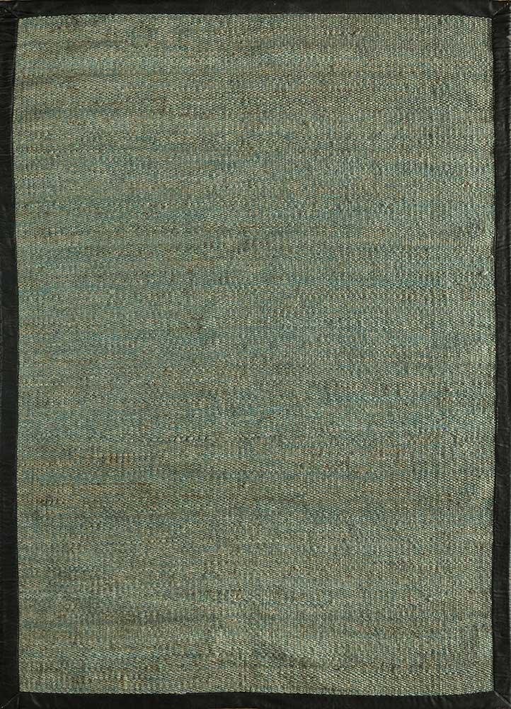 PDJT-245 Antiguan Sky/Antiguan Sky blue jute and hemp jute rugs Rug