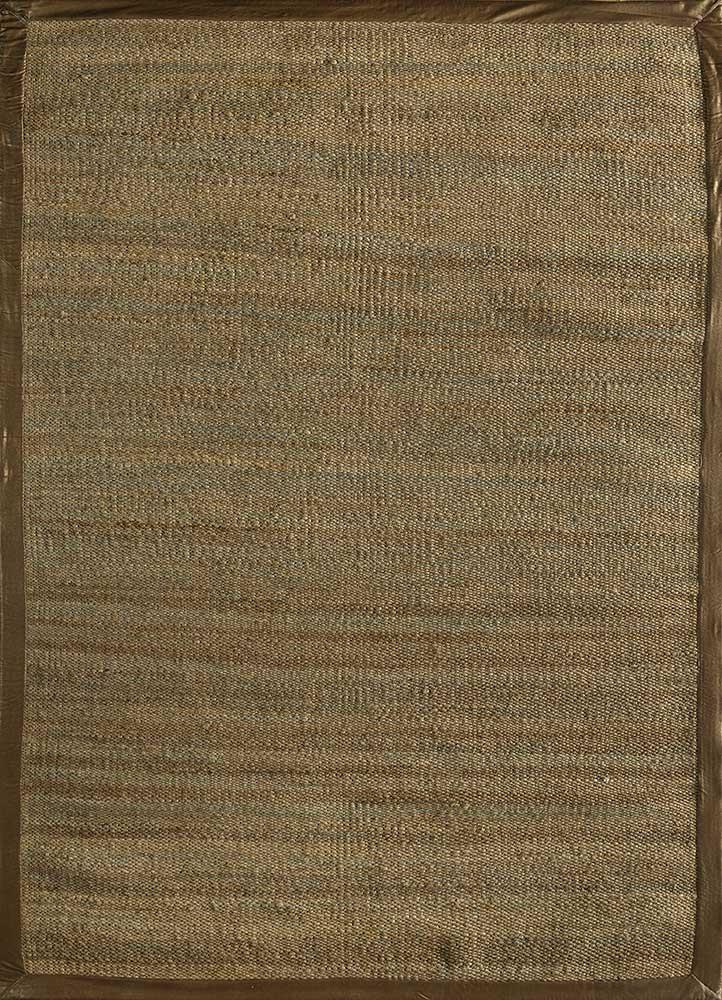 PDJT-245 Medium Gray/Medium Gray grey and black jute and hemp jute rugs Rug