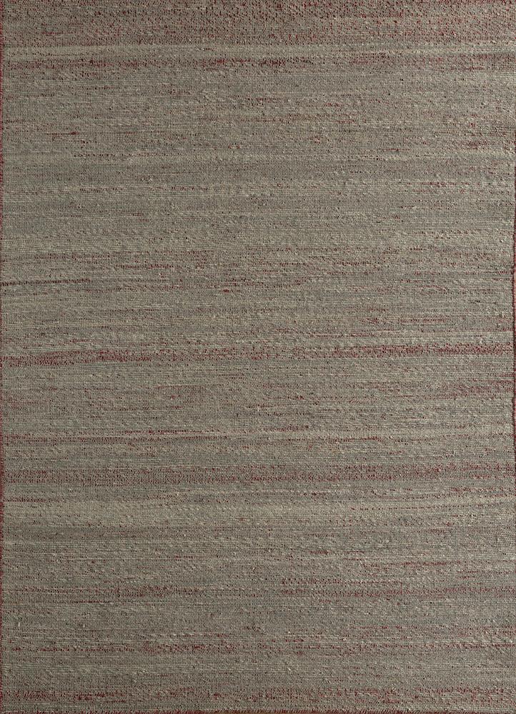 PDJT-306 Cloud White/Medium Gray ivory jute and hemp jute rugs Rug
