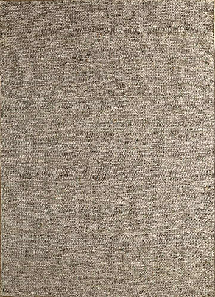PDJT-306 Cloud White/Cloud White ivory jute and hemp jute rugs Rug