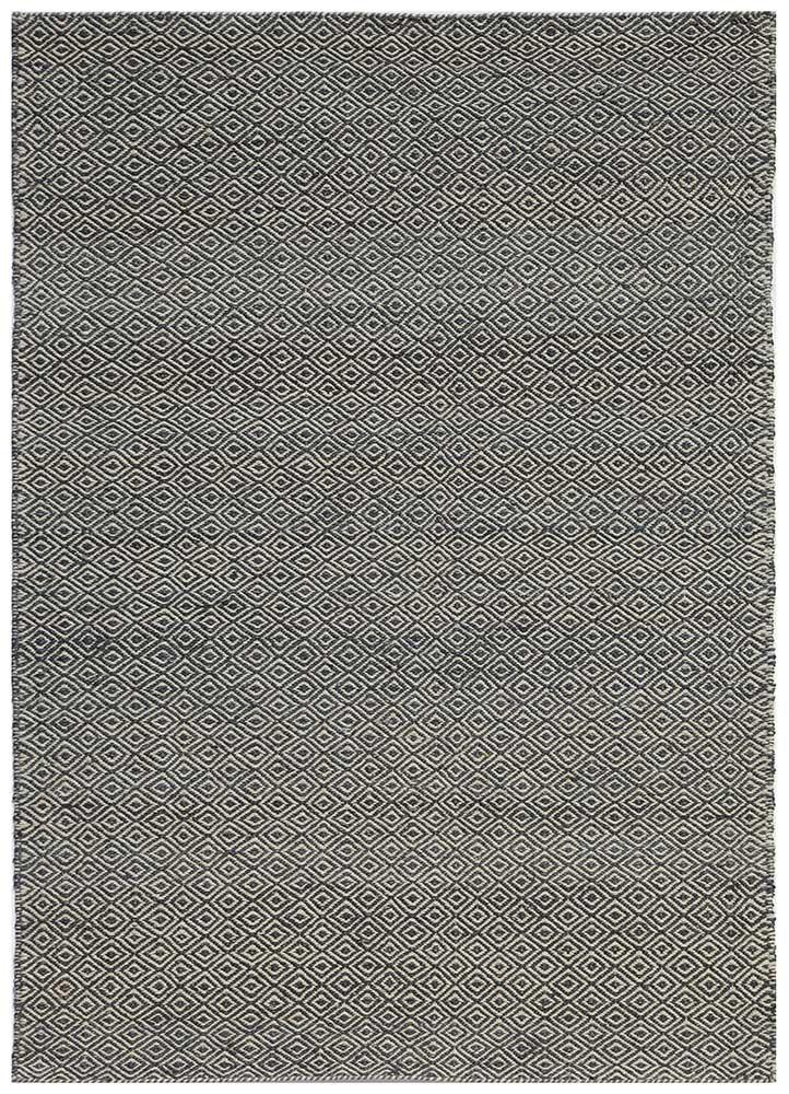 PDWH-01 Gray/Ebony Slate beige and brown jute and hemp jute rugs Rug