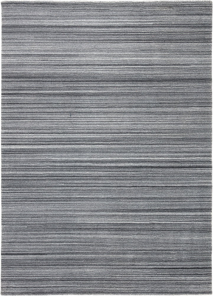 PHPL-04 Stone Gray/Stone Gray grey and black polyester hand loom Rug