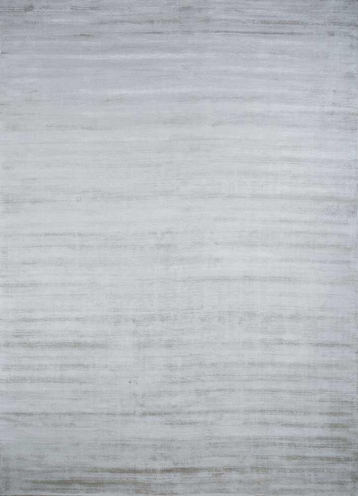 PHPV-20 Silver Ash/Silver Ash grey and black viscose hand loom Rug